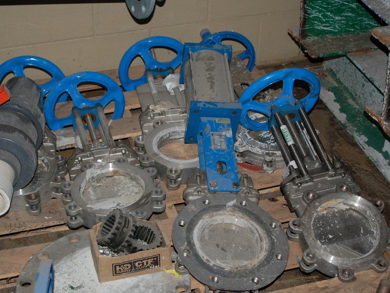 6 Quot Knife Gate Valves For Sale All Ss With Rising Stem